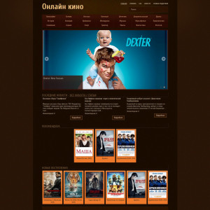 Разработка каталога фильмов joker-onlinehd.ru