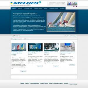 Сайт ассоциации парусного спорта Мелджес24